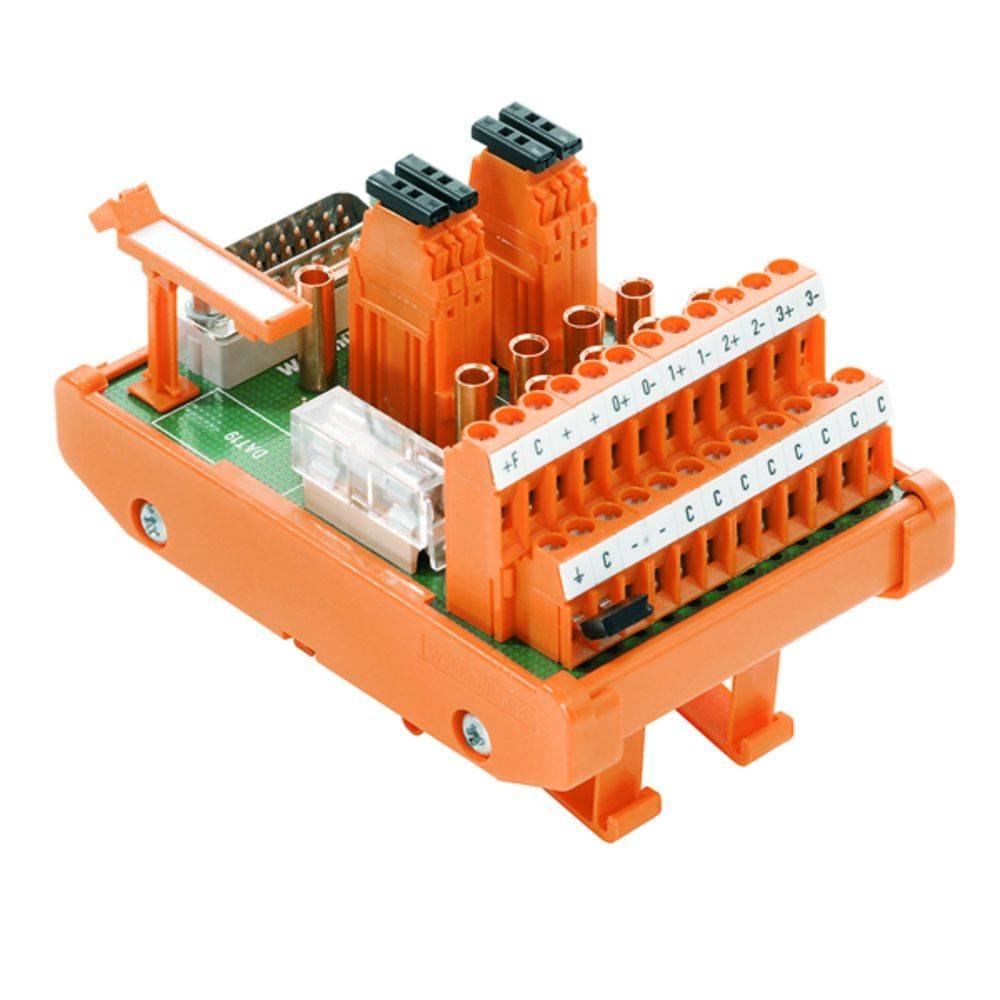Übergabeelement (value.1292954) 1 stk Weidmüller RS 4AIO I-M-DP SD S 50, 25 V/DC, V/AC (max)
