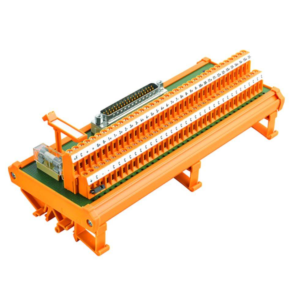 Übergabeelement (value.1292954) 1 stk Weidmüller RS 16AIO DP SD Z 50, 25 V/DC, V/AC (max)