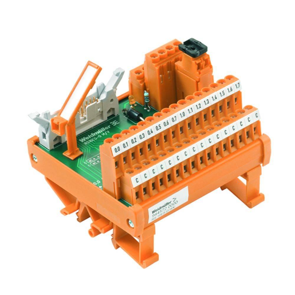 Übergabeelement (value.1292954) 1 stk Weidmüller RS 16IO 2W H Z 50, 25 V/DC, V/AC (max)
