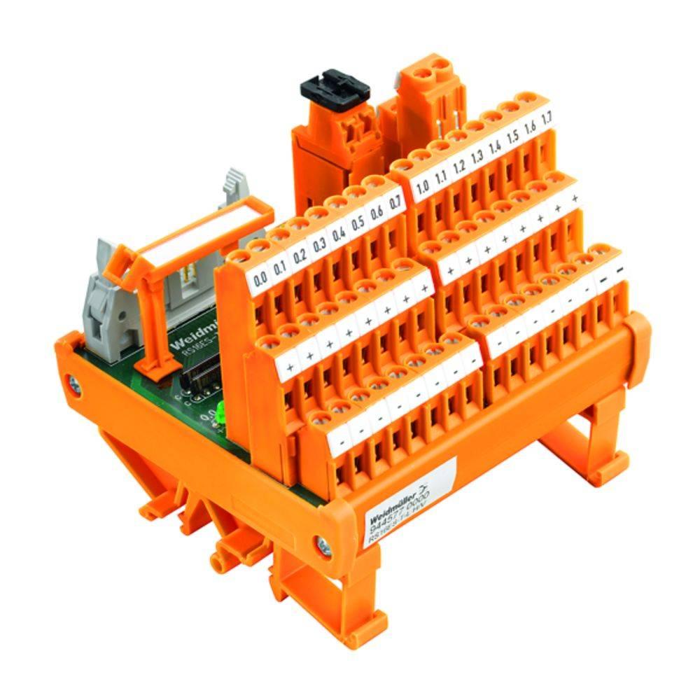 Tiskano vezje za rele 5 kosov Weidmüller RS 18 24VDC LD 4U LP 4 x preklopni 24 V/DC