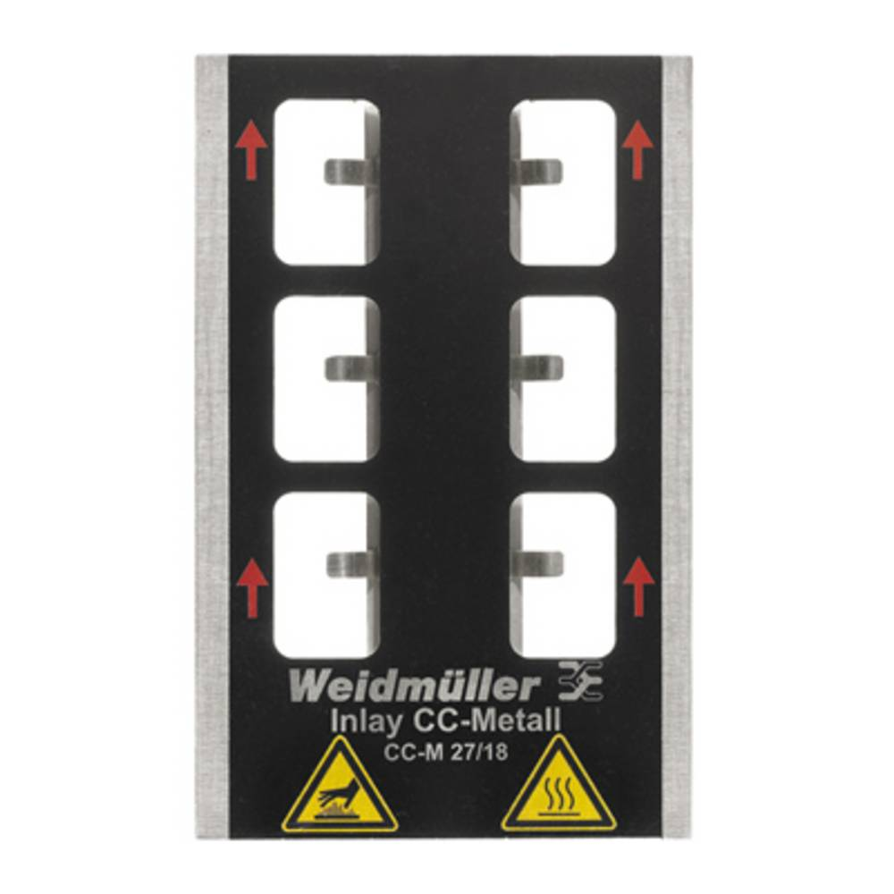 Inlay for PrintJet Pro INLAY CC-M 27/18 1341040000 Weidmüller 1 stk
