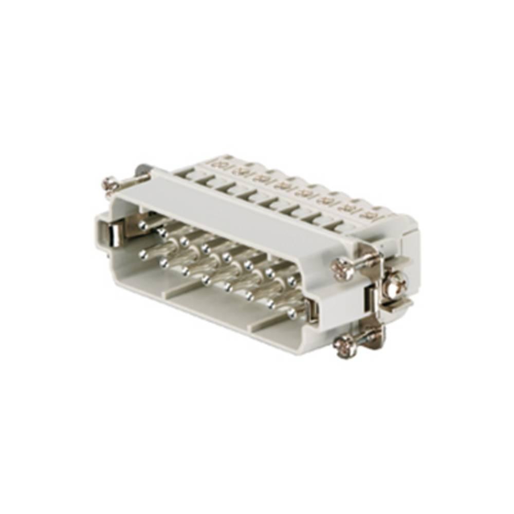 Stiftindsats Weidmüller RockStar® HDC HA 1650770000 16 Skruer 1 stk