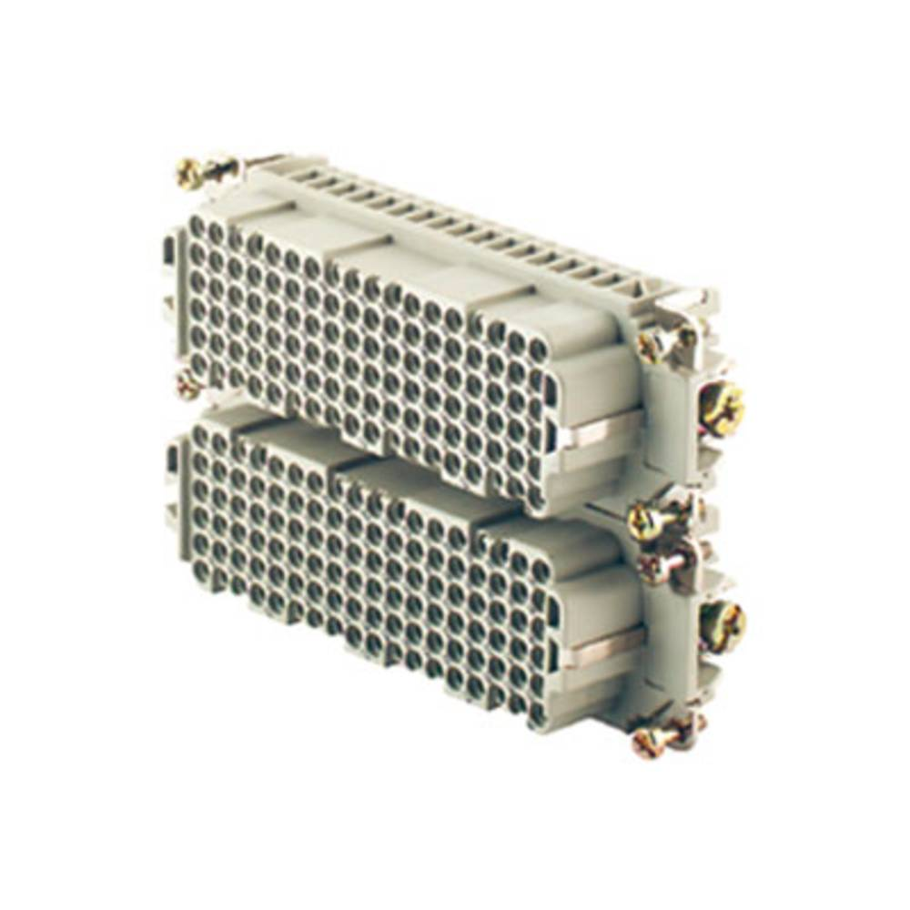 Tilslutningsindsats Weidmüller RockStar® HDC HDD 1651300000 108 Crimp 1 stk