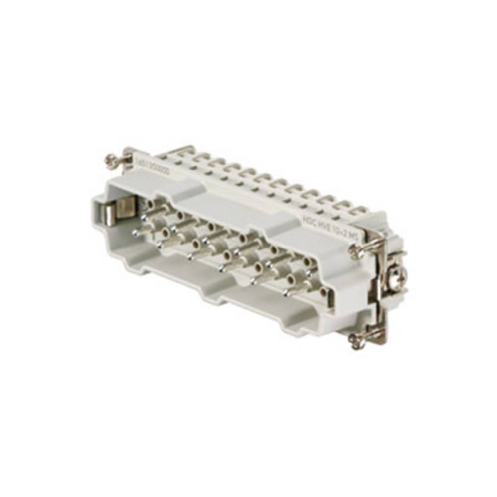 Stiftindsats Weidmüller RockStar® HDC HVE 1651350000 10, 2 Skruer 1 stk