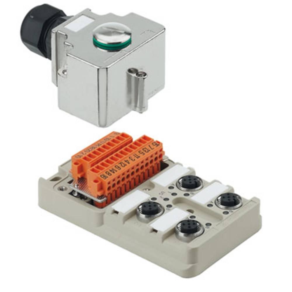 Sensor/aktorbox passiv M12-fordeler med metalgevind SAI-4-MH-5P M12 1701232000 Weidmüller 1 stk