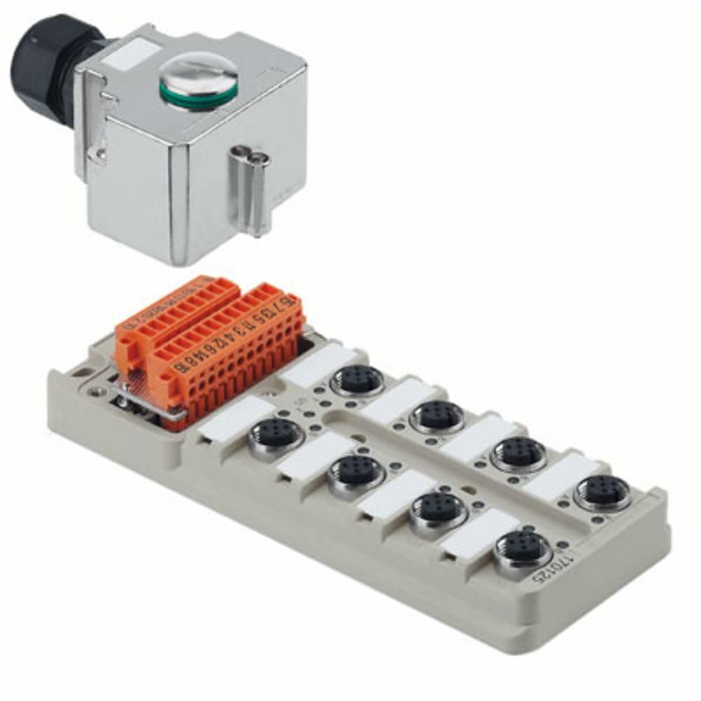 Razdelilnik za pasivne senzorje in aktuatorje SAI-8-MH-4P M12 Weidmüller vsebuje: 1 kos