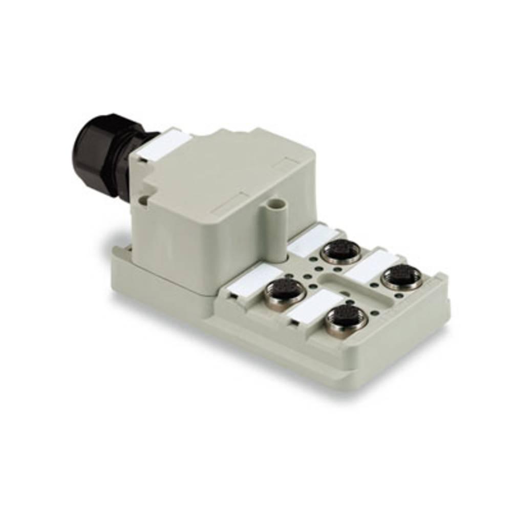 Razdelilnik za pasivne senzorje in aktuatorje SAI-6-M 4P M12 Weidmüller vsebuje: 1 kos