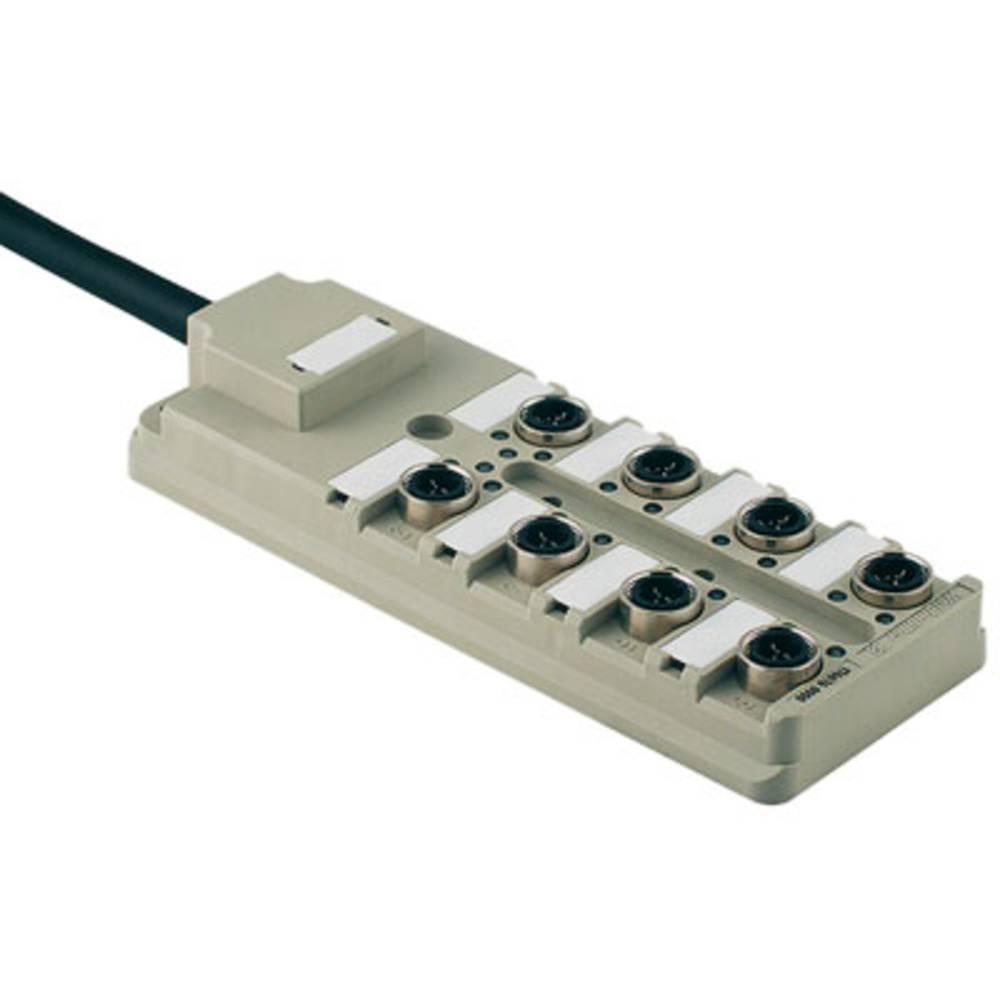 Razdelilnik za pasivne senzorje in aktuatorje SAI-8-F 3P IDC PUR 5M Weidmüller vsebuje: 1 kos