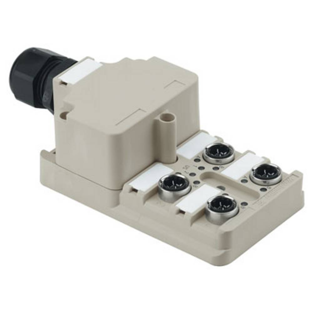 Sensor/aktorbox passiv M12-fordeler med metalgevind SAI-4-M 4P IDC 1766780000 Weidmüller 1 stk