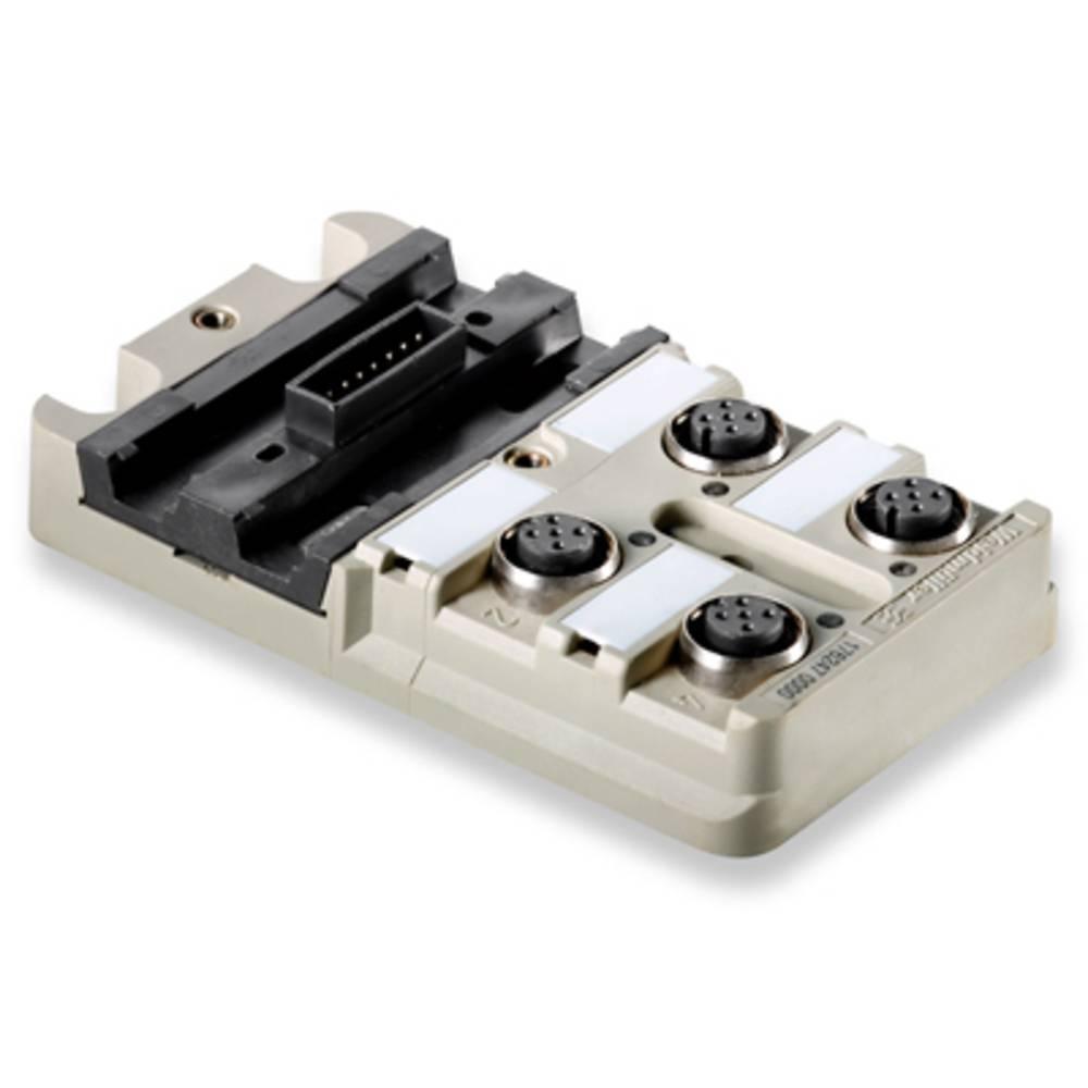Razdelilnik za pasivne senzorje in aktuatorje SAI-4-MMS 5P M12 Weidmüller vsebuje: 1 kos