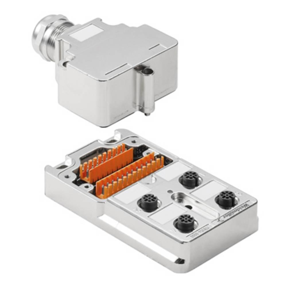 Razdelilnik za pasivne senzorje in aktuatorje SAI-4-MMS 4P M12 Weidmüller vsebuje: 1 kos