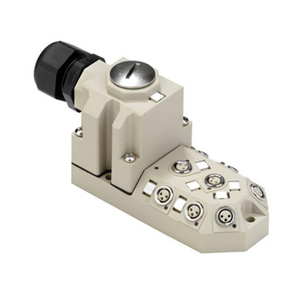 Sensor/aktorbox passiv M8-fordeler med metalgevind SAI-4-M 3P M8 1784680000 Weidmüller 1 stk