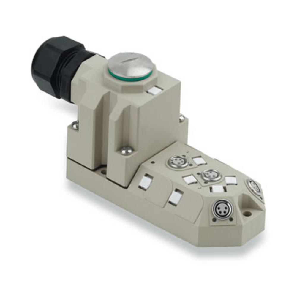 Sensor/aktorbox passiv M8-fordeler med metalgevind SAI-4-M 4P M8 1784700000 Weidmüller 1 stk