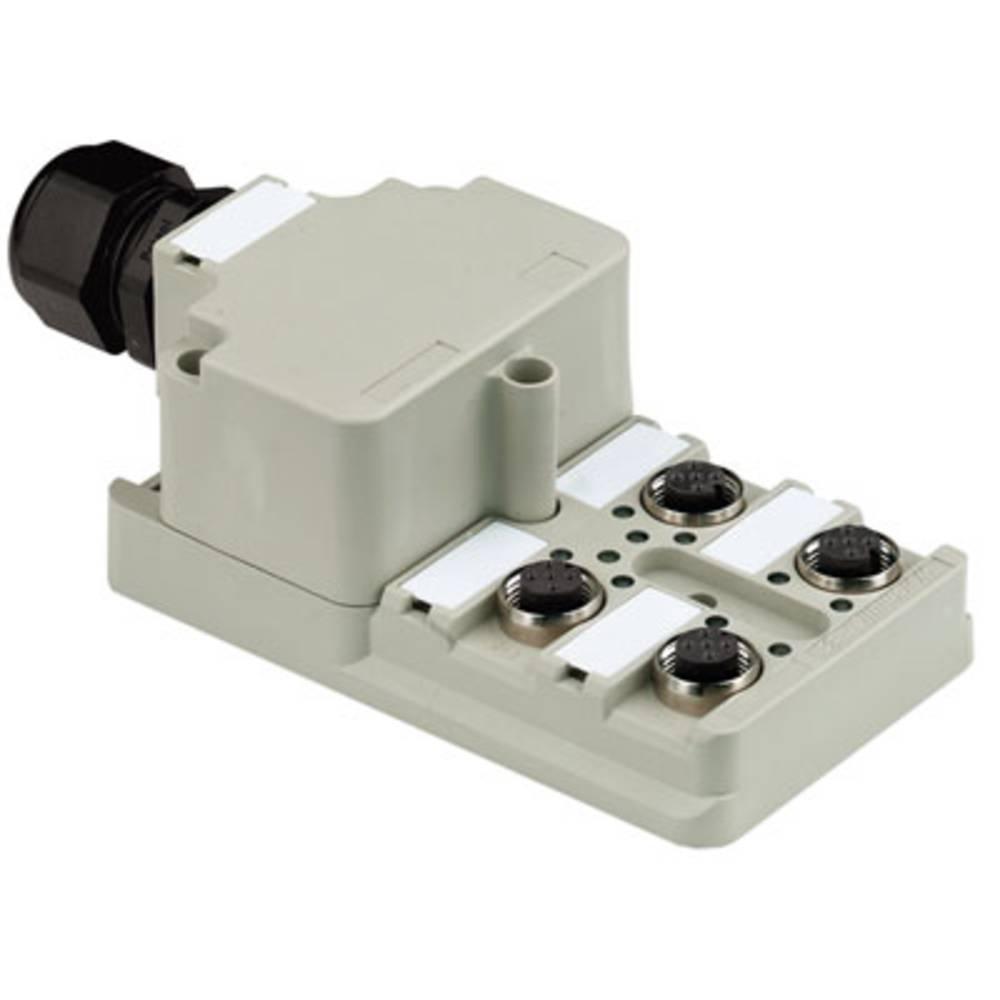Sensor/aktorbox passiv M12-fordeler med metalgevind SAI-4-M 5P M12 1:1 1806010000 Weidmüller 1 stk
