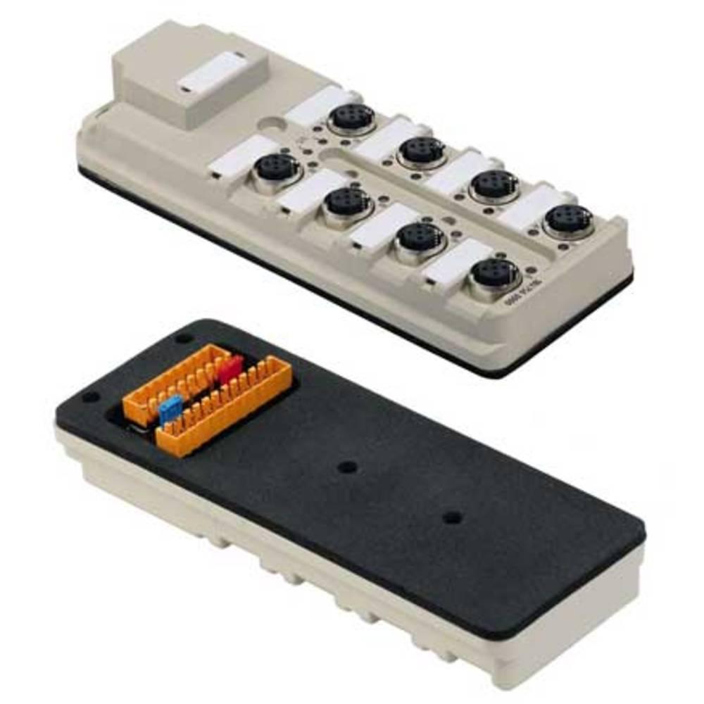 Razdelilnik za pasivne senzorje in aktuatorje SAI-8-B 5P M12 SL Weidmüller vsebuje: 1 kos