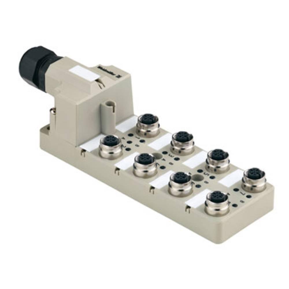 Razdelilnik za pasivne senzorje in aktuatorje SAI-8-M 5P FC Weidmüller vsebuje: 1 kos