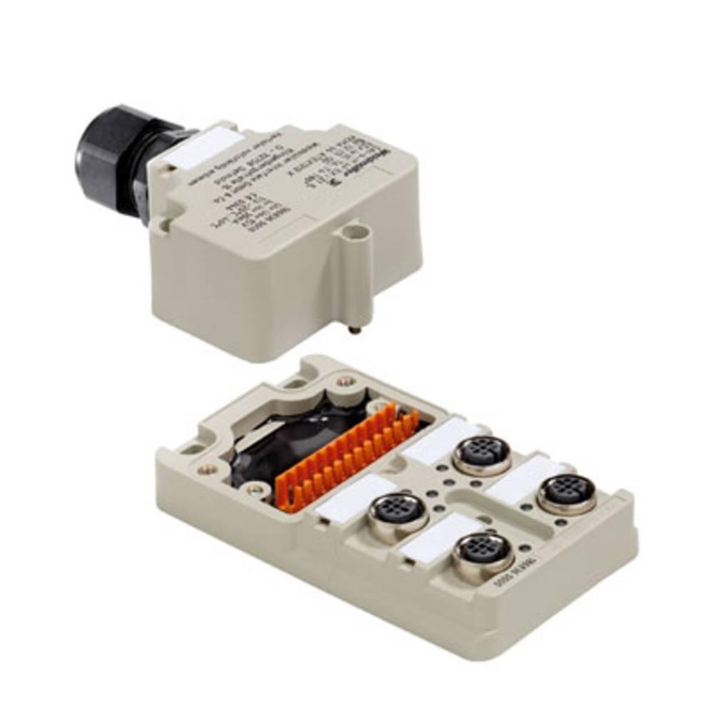 Sensor/aktorbox passiv M12-fordeler med metalgevind SAI-4-M 4P EXI Z1 IL 1868360000 Weidmüller 1 stk