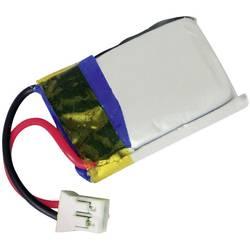 Modelarstvo - akumulatorski paket (LiPo) 3.7 V 150 mAh 1 C Conrad energy Flachvtič