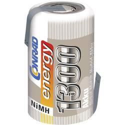 NiMh baterija za modele Conrad energy 2/3 AF 1.2 V 1300 mAh s lemnim zastavicama