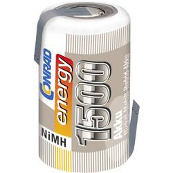 NiMh baterija za modele Conrad energy 2/3 AF 1.2 V 1500 mAh s lemnim zastavicama