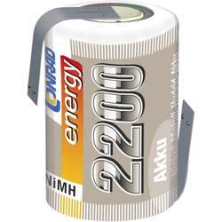 NiMh baterija za modele Conrad energy 4/5 Sub-C 1.2 V 2200 mAh s lemnim zastavicama