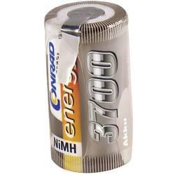RC Batteri-cell Conrad energy NiMH Sub-C 1.2 V 3700 mAh med lödstift