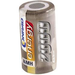 RC Batteri-cell Conrad energy NiMH Sub-C 1.2 V 2000 mAh utan lödstift