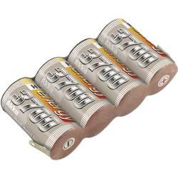 Conrad energy NiMH akumulator za prijemnike modela 4.8 V 3700 mAh side by side s repom za lemljenje
