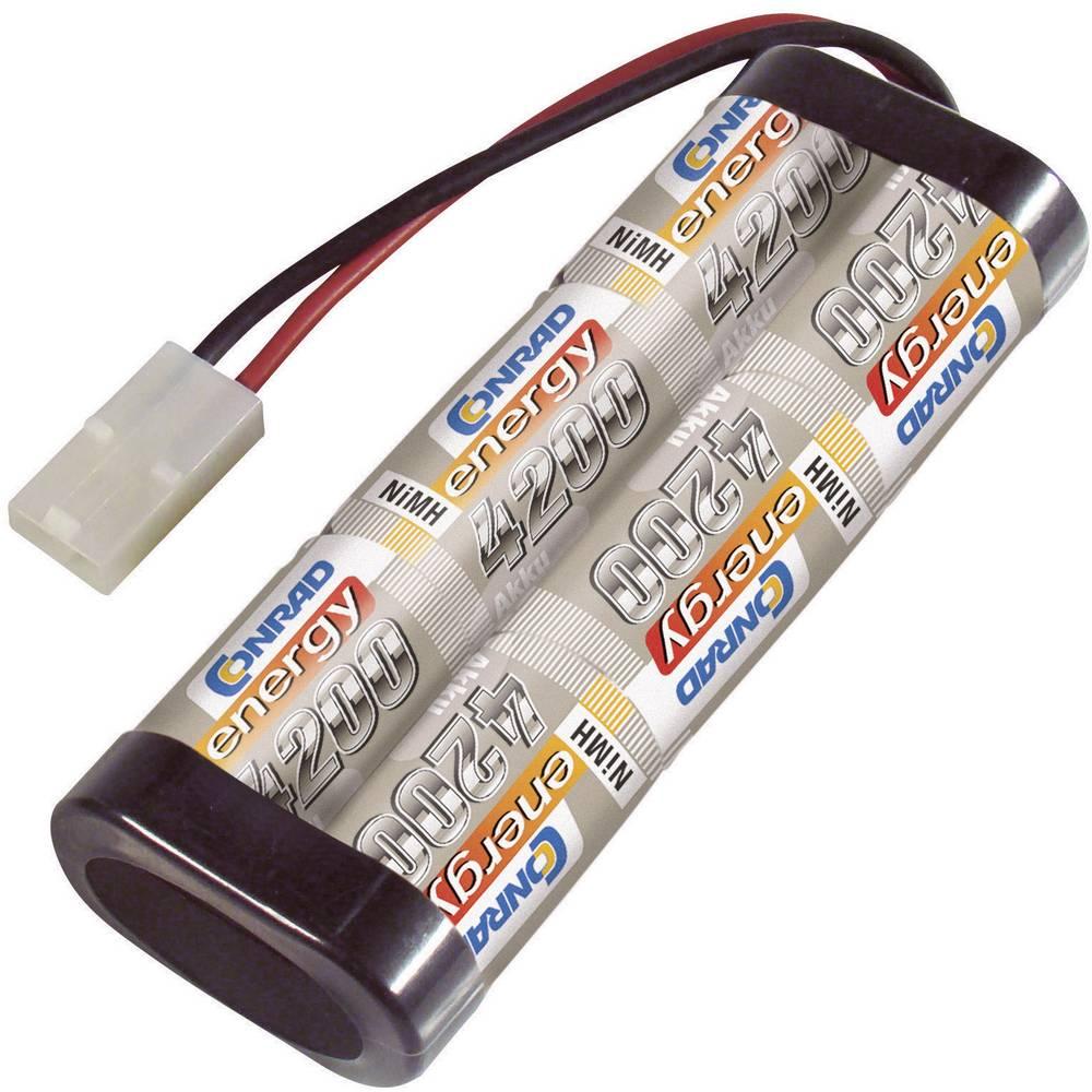 Modelarstvo - akumulatorski paket (NiMh) 7.2 V 4200 mAh Conrad energy Stick Tamiya-vtič
