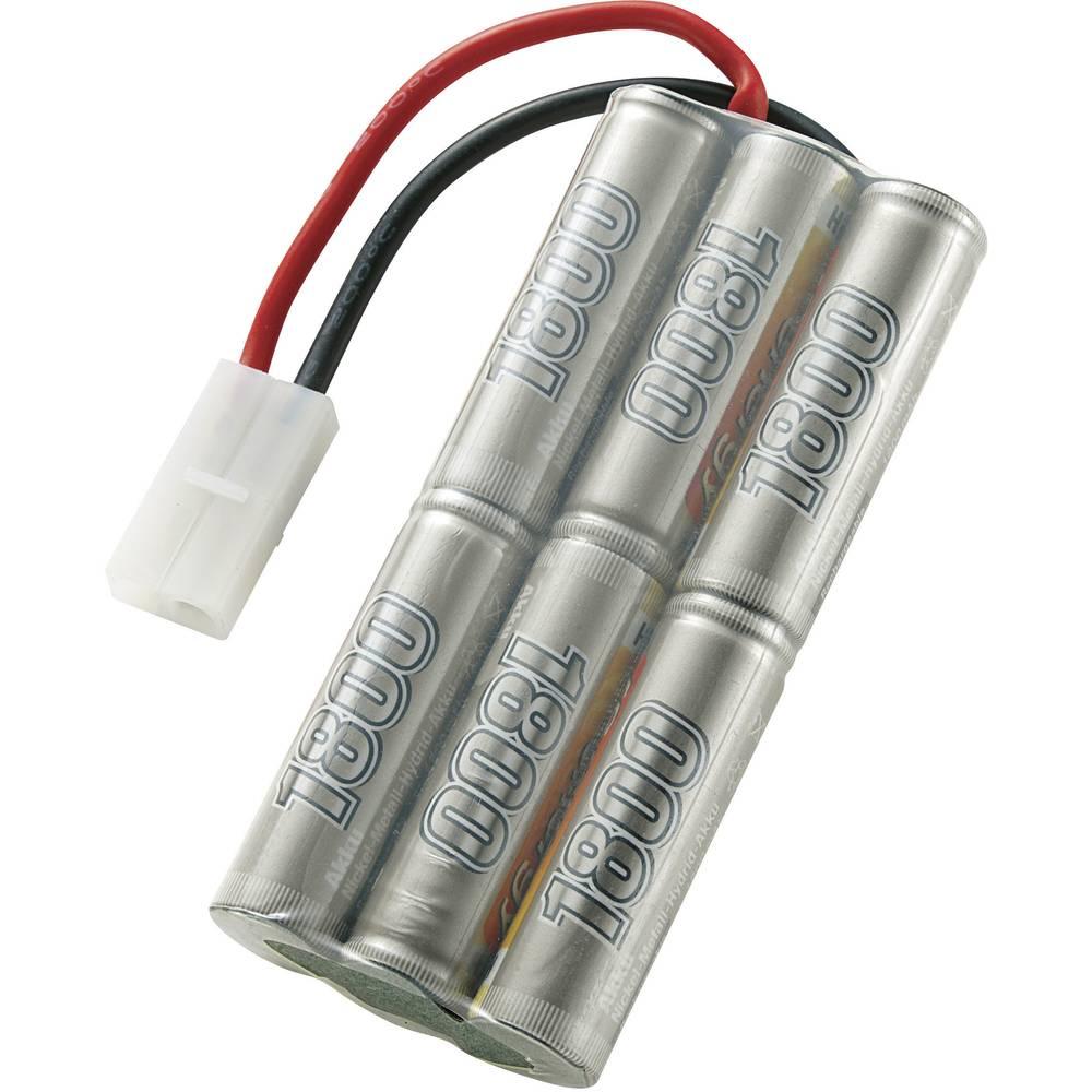 Modelbyggeri-batteripakke (NiMH) Conrad energy 7.2 V 1800 mAh Stick Tamiya-stik