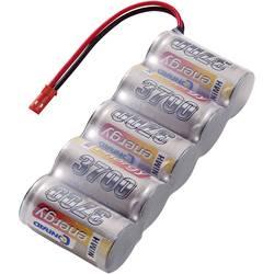 RC Mottagarbatteri (NiMh) Conrad energy NiMH Sub-C Sida vid sida 6 V 3700 mAh