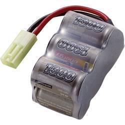 Modelarstvo - akumulatorski paket (NiMh) 7.2 V 1300 mAh Conrad energy Block Mini-Tamiya vtič