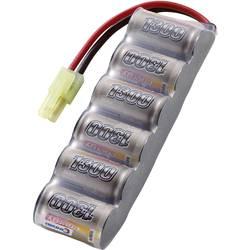 Modelarstvo - akumulatorski paket (NiMh) 7.2 V 1300 mAh Conrad energy Side by Side Mini-Tamiya vtič