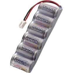 Modelarstvo - akumulatorski paket (NiMh) 7.2 V 1300 mAh Conrad energy Side by Side Micro-Car-vtičnica