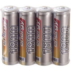 RC Batteri-cell NiMH R6 (AA) 1.2 V 1800 mAh Conrad energy Set 4 st