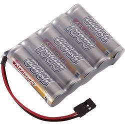 RC Mottagarbatteri (NiMh) Conrad energy NiMH R6 (AA) Sida vid sida 6 V 1800 mAh