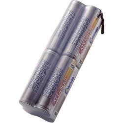 NiMh baterija za odašiljače Conrad energy 9.6 V 2300 mAh blok s lemnim zastavicama