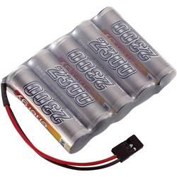 RC Mottagarbatteri (NiMh) Conrad energy NiMH R6 (AA) Sida vid sida 6 V 2300 mAh
