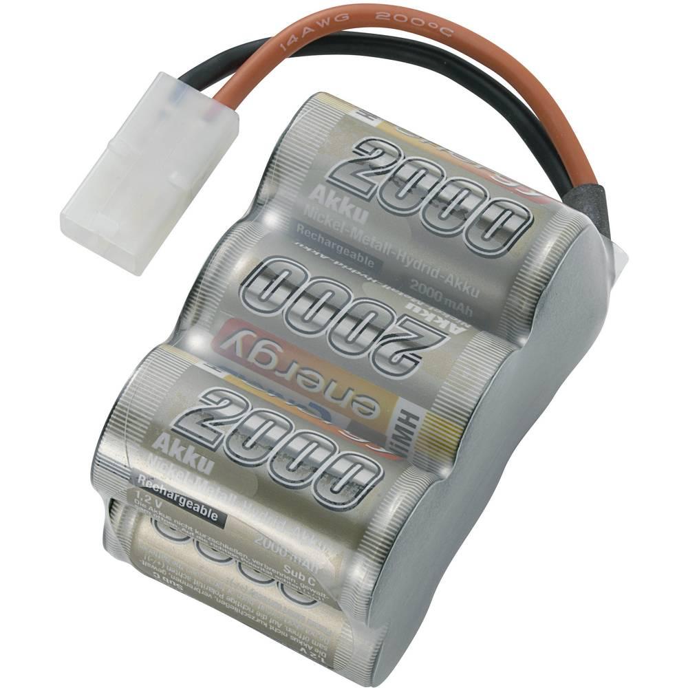 Baterijski paket za modele (NiMh) 7.2 V 2000 mAh broj ćelija: 6 Conrad energy Block Tamiya-utikač