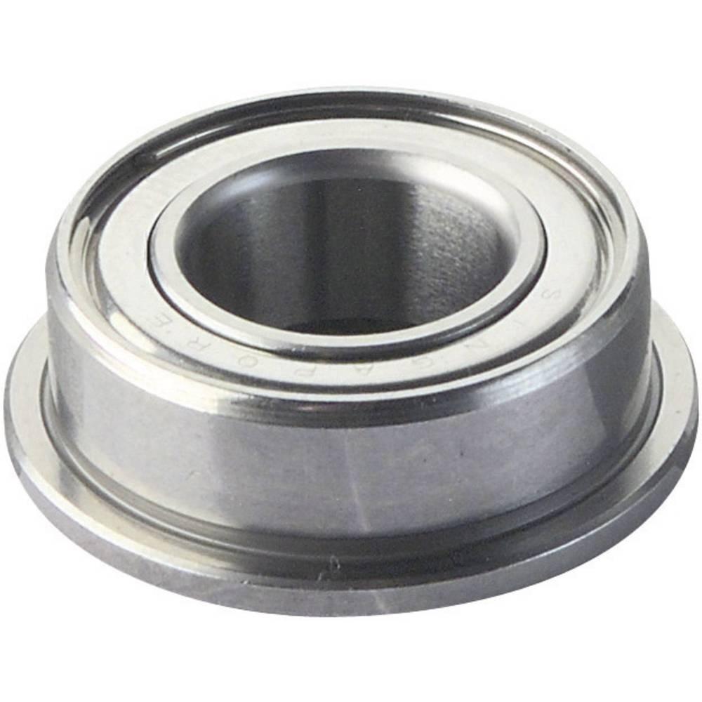 Reely radialni kroglični ležaj iz kromiranega jekla, notranji premer: 5 mm zunanji premer: 8 mm št. vrtljajev (max.): 53000 U/min