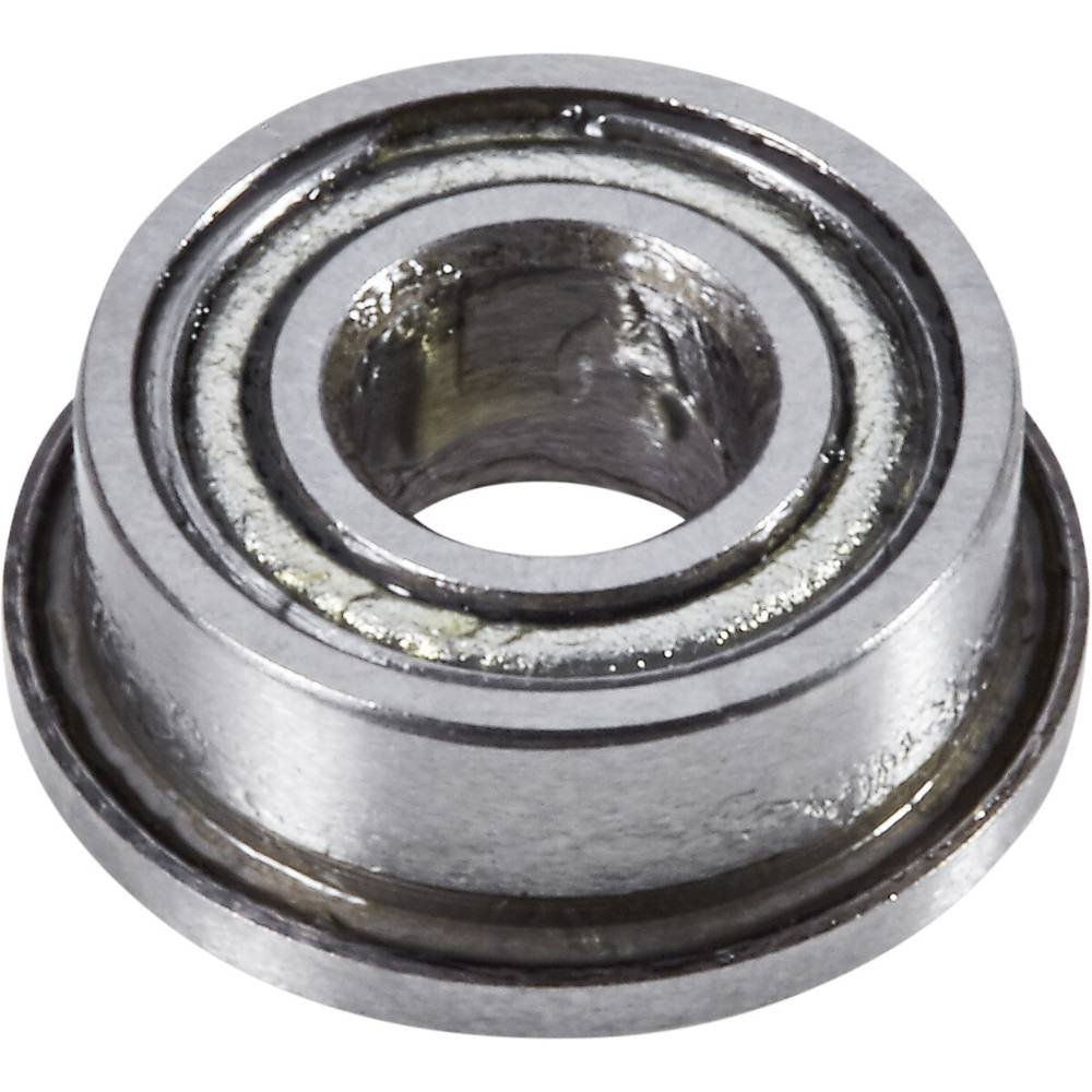Radialni kroglični ležaji s prirobnico 8 mm 4 mm 3 mm