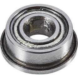 Radialni kroglični ležaji s prirobnico 5 mm 2 mm 2.5 mm