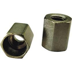 Varnostna matica, viličasta, M2, jeklo, 10 kosov