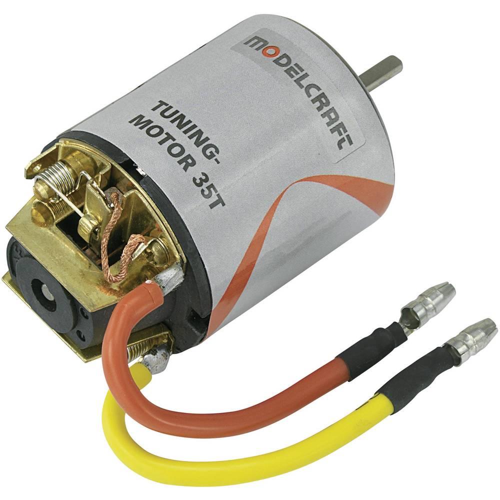 Tuning elektromotor Modelcraft, 7,2 V/DC, št. obratov v praznem teku: 12292 obratov/min, obrati motorja: 35 531013