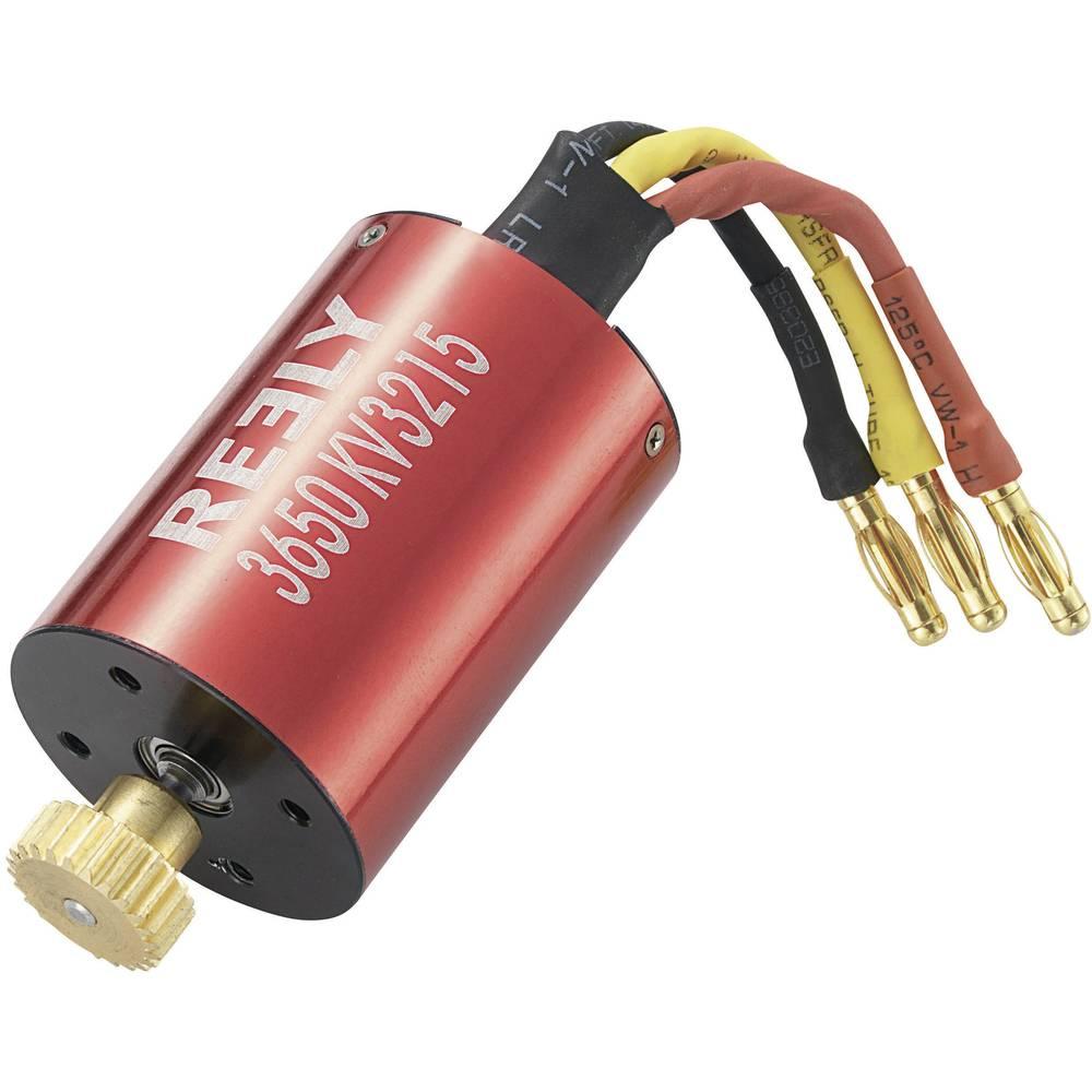 Elmotor för RC-bil borstlös 3650 Reely kV (U/min per Volt): 3650 Varv: 10