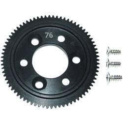 Tuning Reely EL0761S Huvudkugghjul i stål 76 kuggar