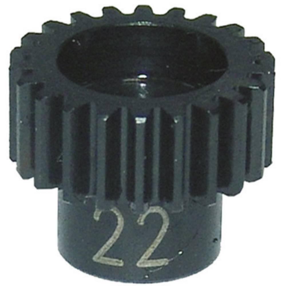 Jekleno motorno zobato kolesce Reely, 22 zobcev, 48 DP, EL0221S, tuning del