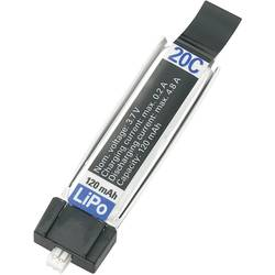 RC Batteripack (LiPo) 3.7 V 120 mAh Antal celler: 1 20 C Conrad energy Minium