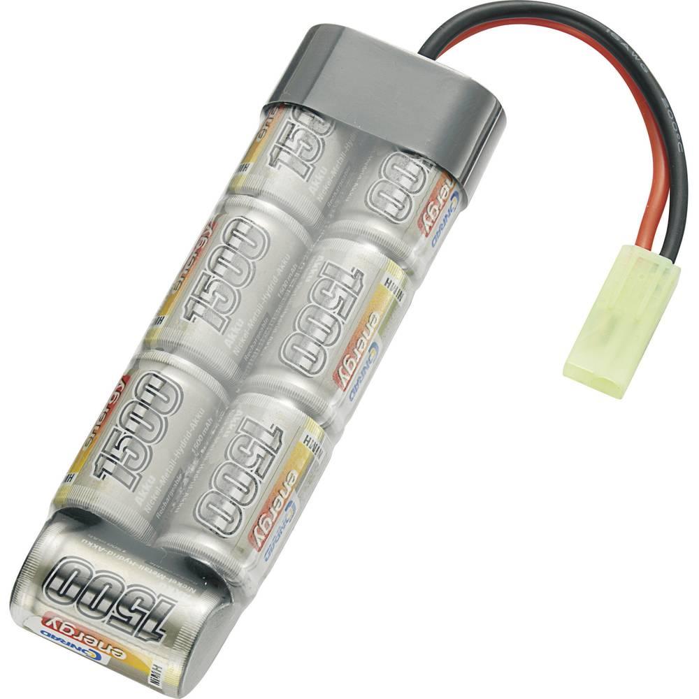 Modelarstvo - akumulatorski paket (NiMh) 8.4 V 1500 mAh Conrad energy Stick Mini-Tamiya vtič