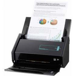 Duplex-Dokumentenscanner (value.1293192) A4 Fujitsu ScanSnap iX500 600 x 1200 dpi 25 Sider/min USB, WLAN 802.11 b/g/n